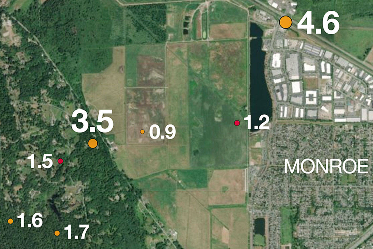 Early wake-up call: Twin quakes under Monroe rattle region