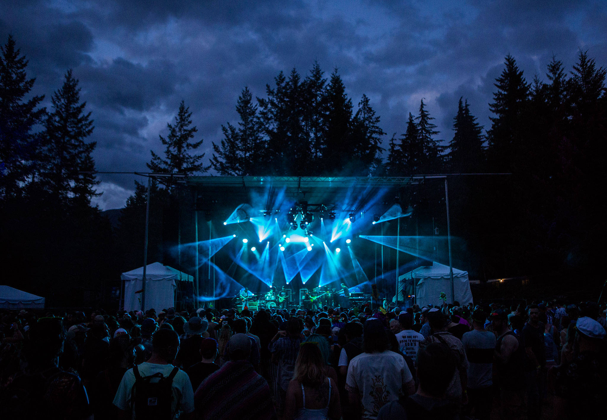 Umphrey's McGee performs during the second day of Summer Meltdown on Friday, Aug. 2, 2019 in Darrington, Wash. (Olivia Vanni / The Herald)