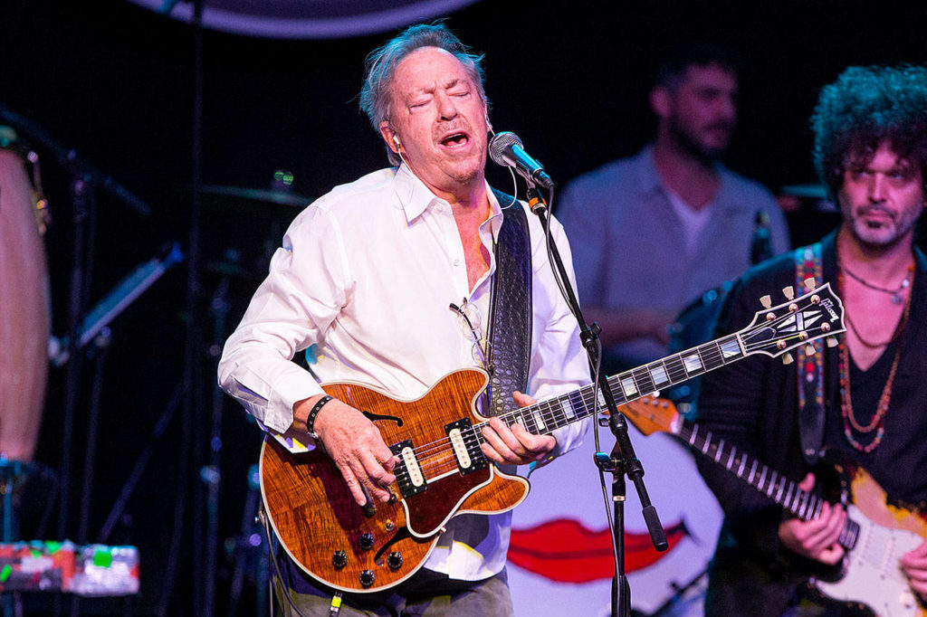 "Blue-eyed soul singer-songwriter Boz Scaggs, known for his Grammy Award-winning R&B song ""Lowdown"" from 1977, will headling Sunday night. (Associated Press file)"