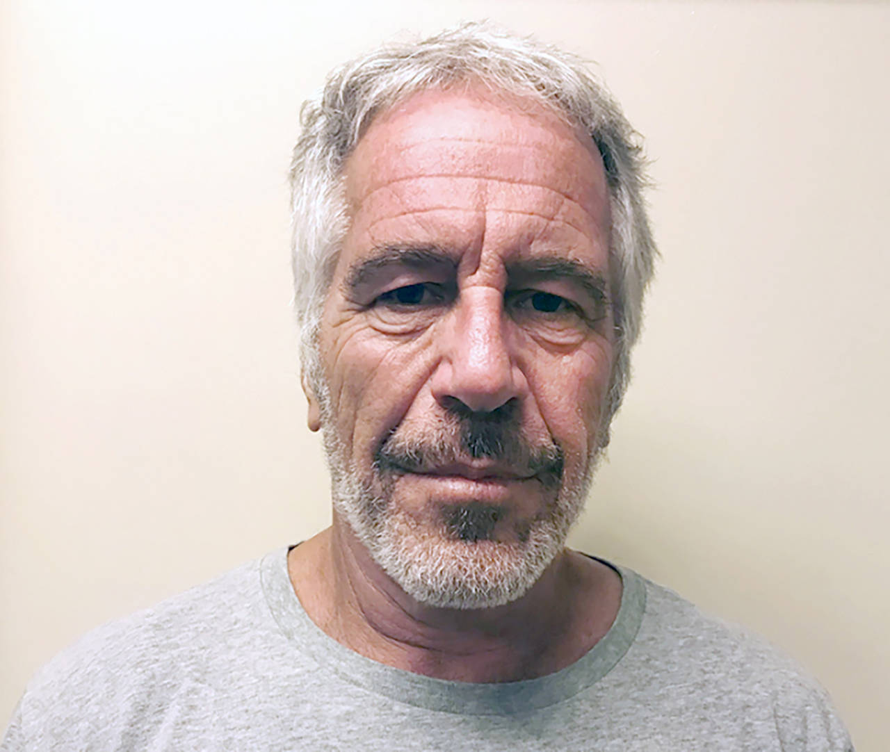 Jeffrey Epstein has died by suicide while awaiting trial on sex-trafficking charges. (New York State Sex Offender Registry via AP, File)