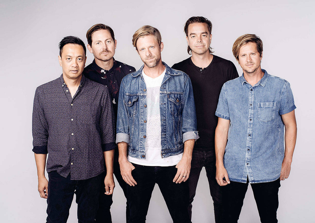 Switchfoot, a Grammy Award-winning alternative rock band, will perform Aug. 26 at the Evergreen State Fair. (Associated Press file)