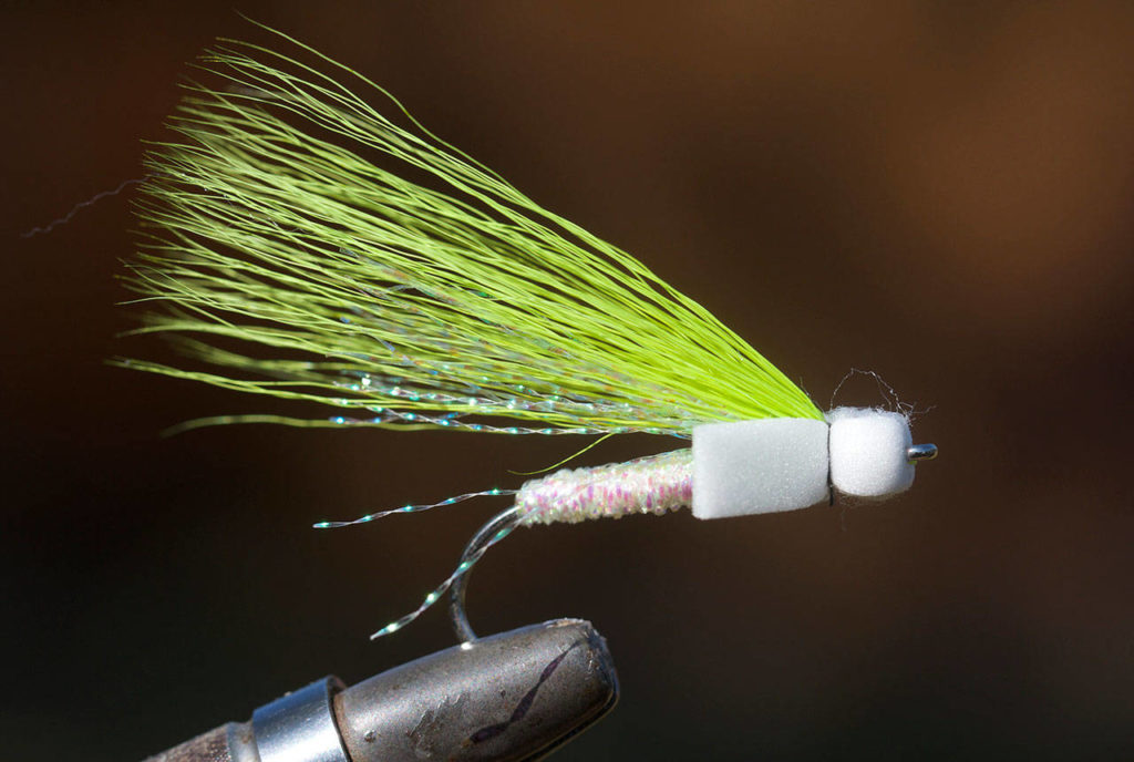 A popper pattern fished on the water's surface. (Mike Benbow photo)