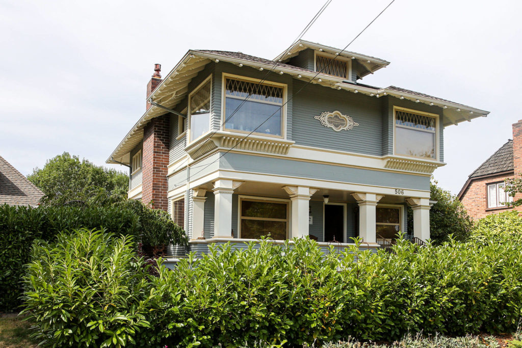 The Hendrie house, built in 1902, is one of the homes on Sunday's historic homes tour. (Kevin Clark / The Herald)