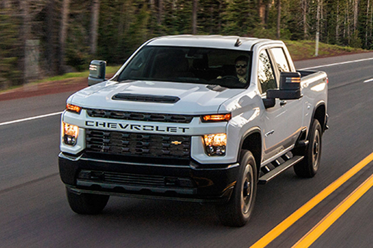 Powerful 2020 Chevrolet Silverado HD is bigger and better
