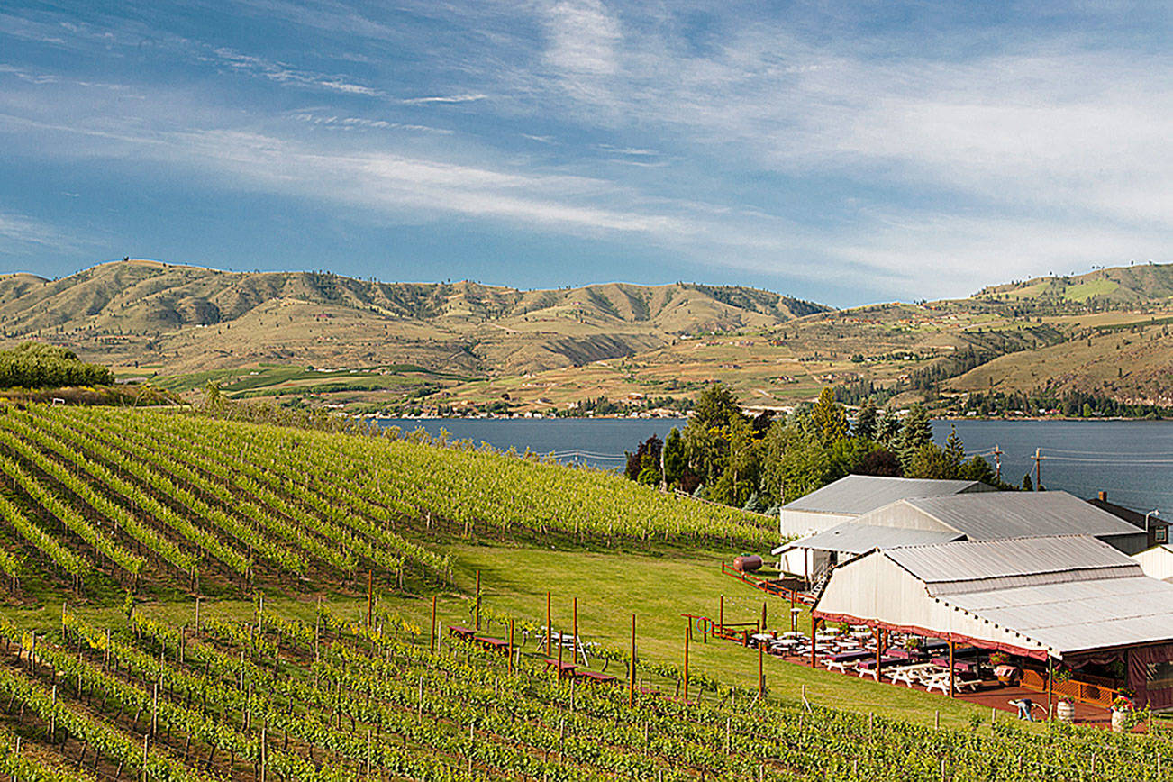 Lake Chelan provides a natural draw for Northwest wine lovers