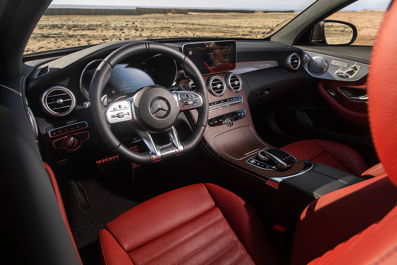 Feel Like Royalty Riding In The 2019 Mercedes Amg C43 Coupe Heraldnet Com