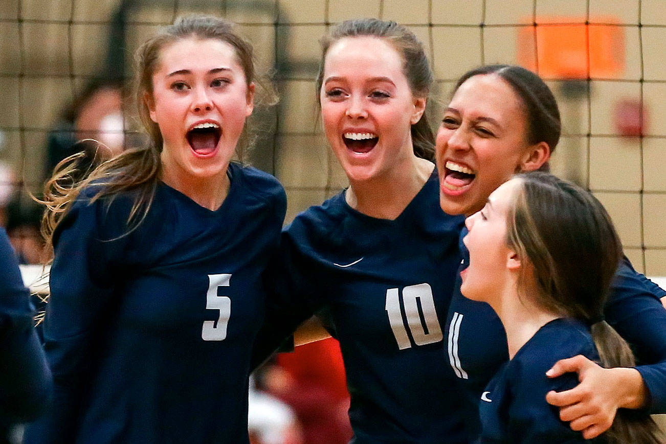 Arlington volleyball sweeps Snohomish in matchup of unbeatens