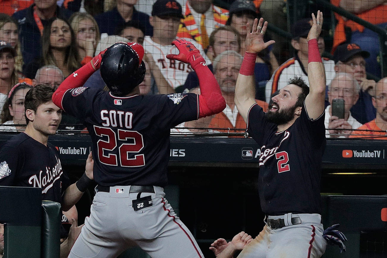 Nationals top Astros, force Game 7 of World Series