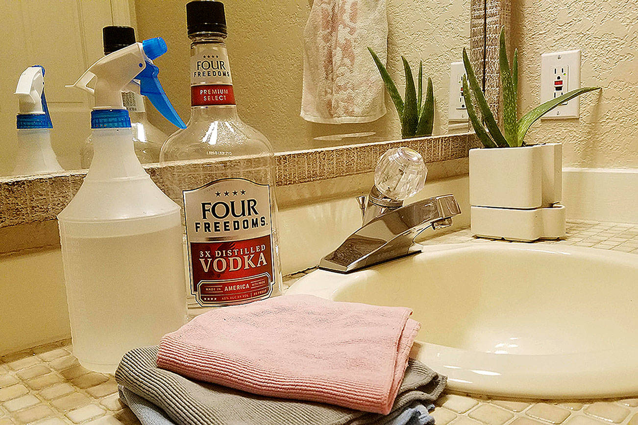 Vodka, vinegar and other cleaning hacks to make your house shine