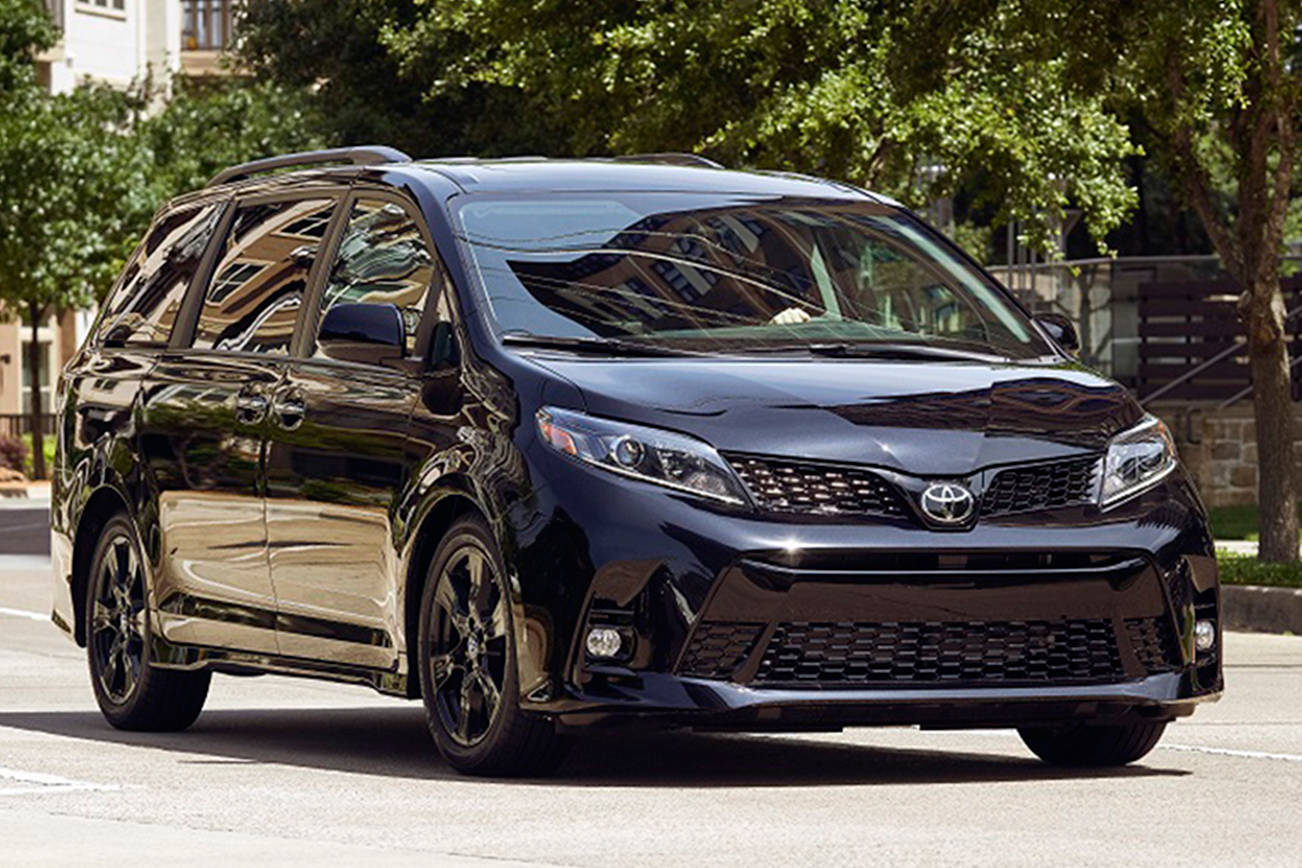 Toyota Sienna minivan is a roomy, reliable people-hauler