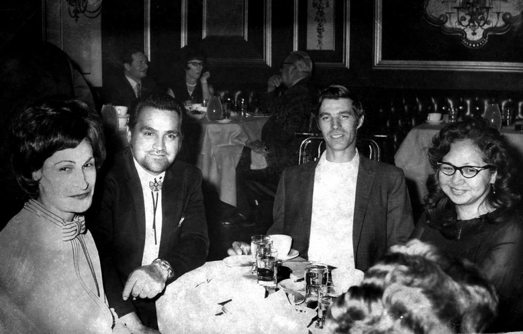 Stan Jones (second from left) met his future wife, JoAnn, in 1948. They married two years later. (Courtesy of the Jones Family)