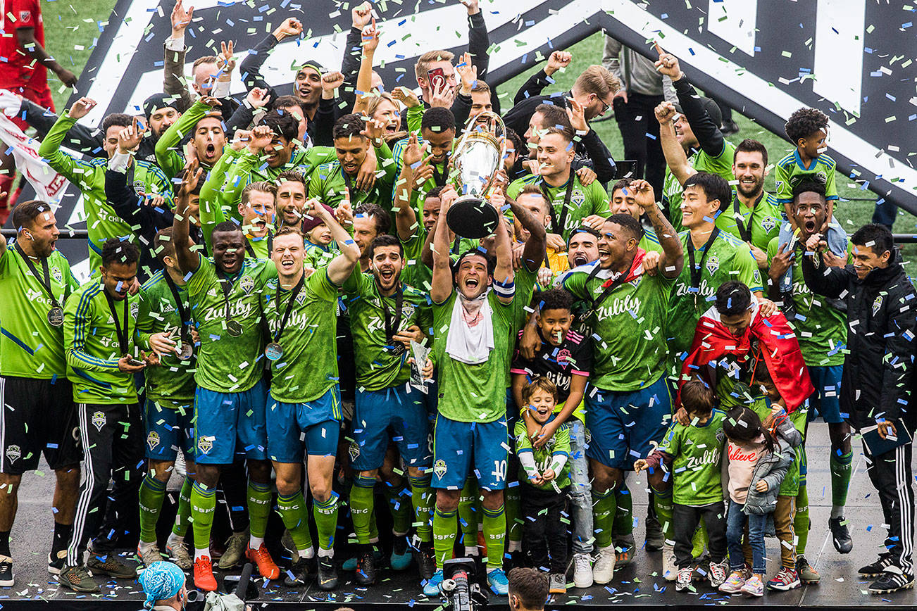 Gallery: Sounders claim their second MLS championship