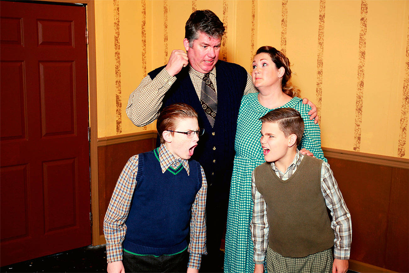 'A Christmas Story' musical takes to the stage in Edmonds