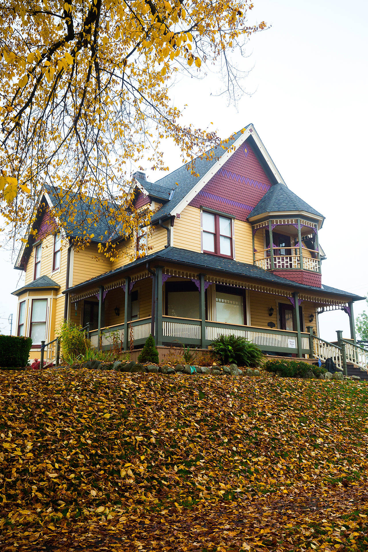 Snohomish's historical Hensel House will be featured on the Snohomish Historical Society's Christmas Parlor Tour on Dec. 8. (Andy Bronson / The Herald)