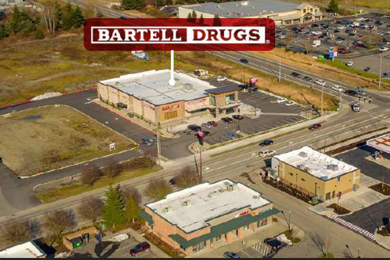 The DNR bought a privately owned parcel in Arlington on which a Bartell Drugs operates. (Washington State Department of Natural Resources)