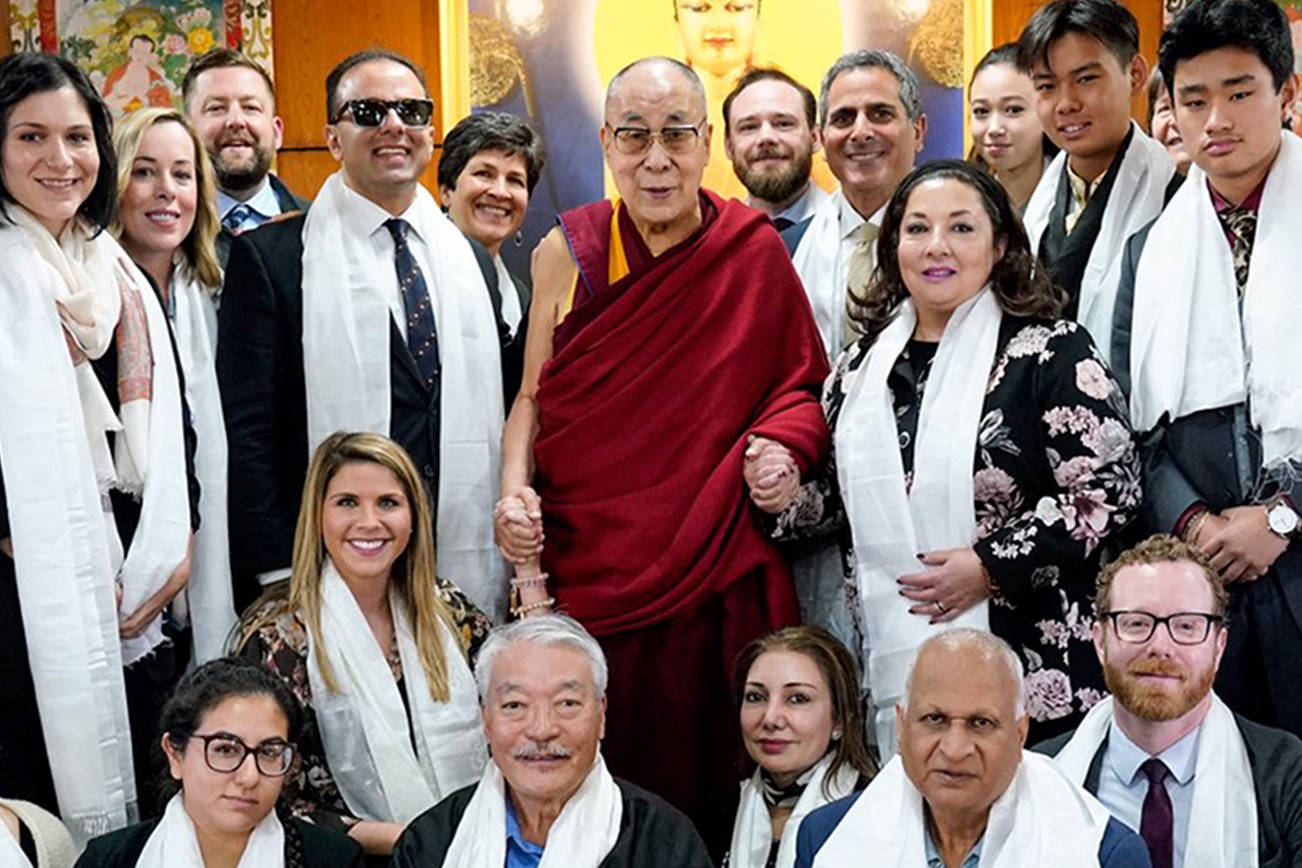 This Edmonds HS student went to India to meet the Dalai Lama