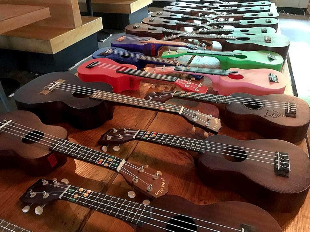 Aaron Canwell will bring 25 ukuleles to his class for students to borrow — but if you have one, feel free to bring you own. (Everett Public Library)