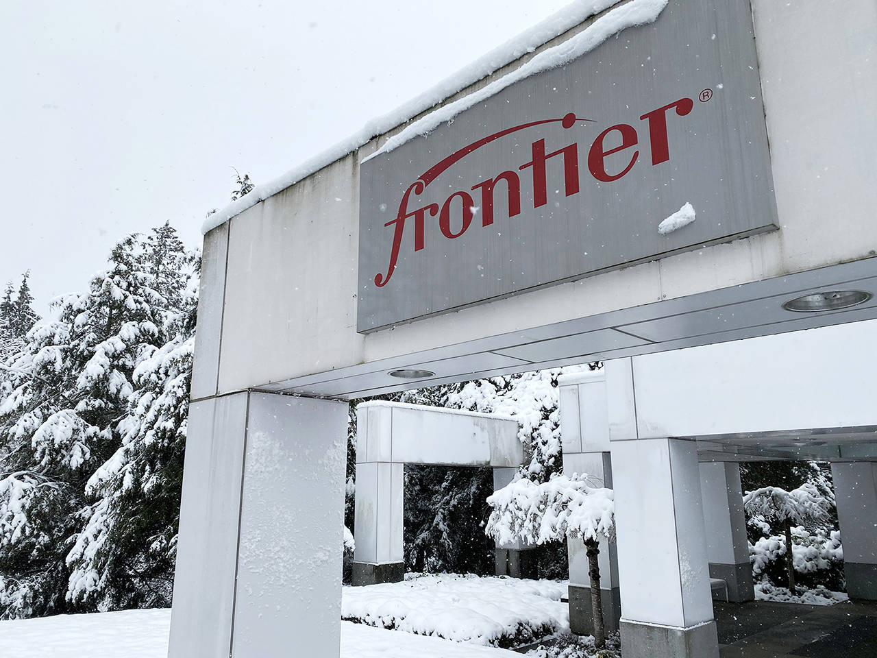 Frontier Communications has its Western Washington headquarters in Everett. (Sue Misao / The Herald)