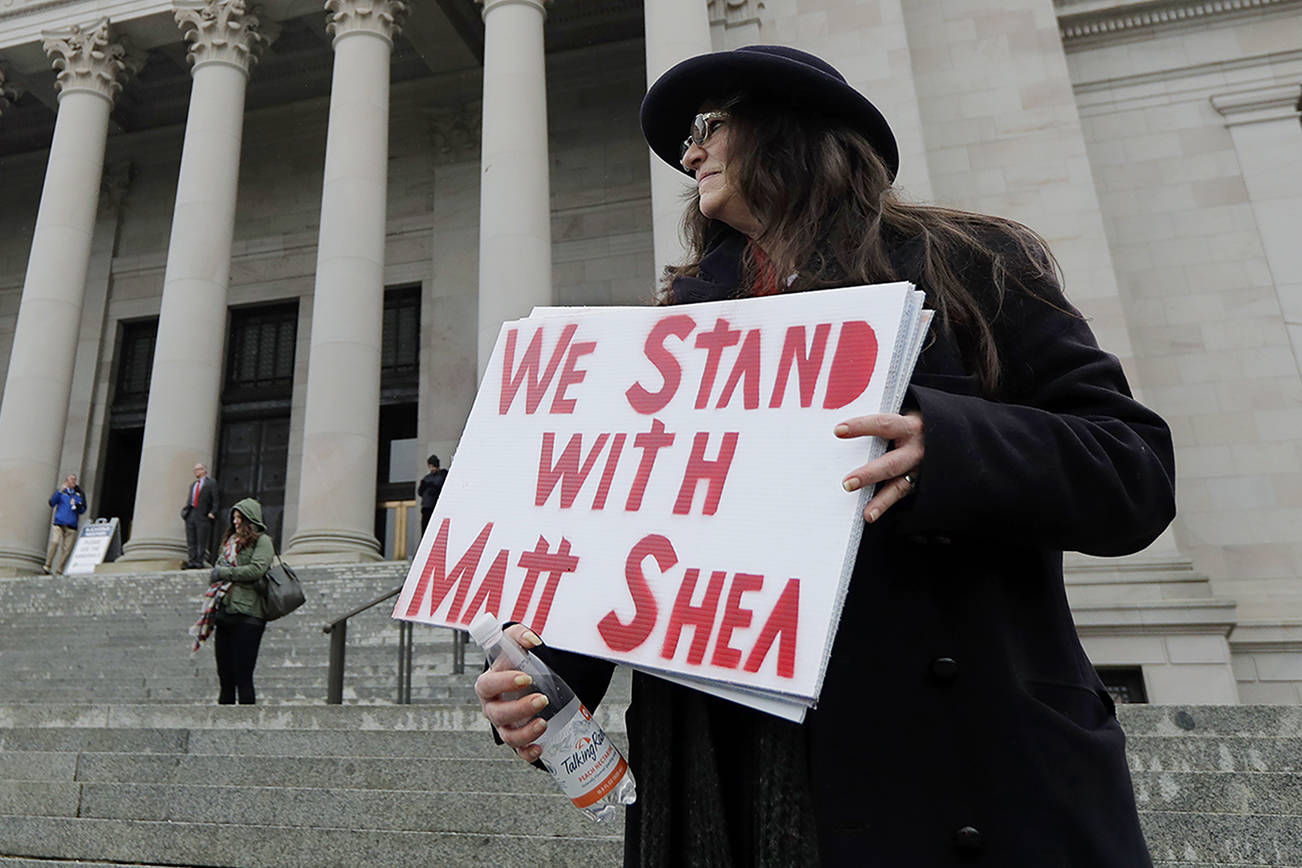 Defiant and determined Matt Shea is poised for a victory lap