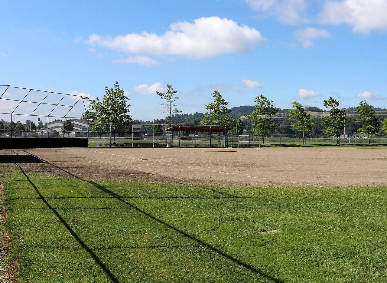 Some of the bond money would go toward renovating the athletic fields at Lake Tye Park. This is the park's ball field No. 2. (City of Monroe)