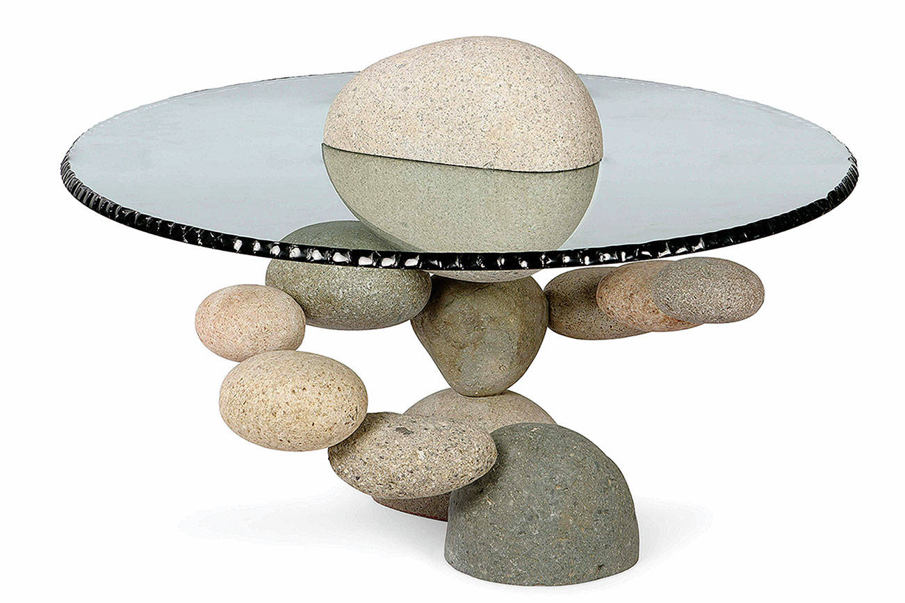 Is it a table or a piece of art? In any case, it didn't sell