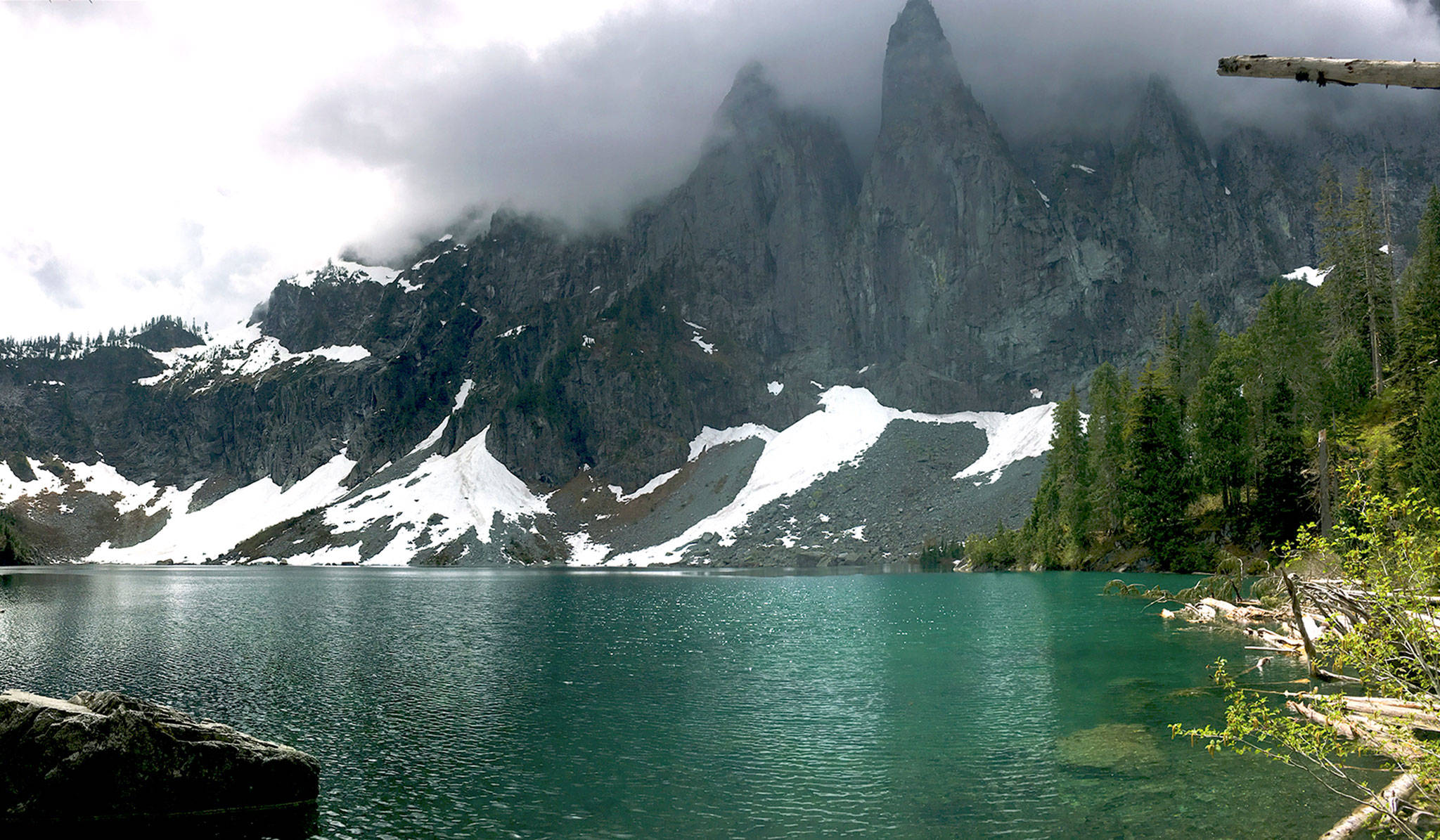 """Lake Serene, in the Mount Baker-Snoqualmie National Forest, offers a short hike to a waterfall and a longer hike to an alpine lake. The """"Economic, Environmental, Social Benefits of Recreational Trails in Washington State"""" study looked at these trails. (U.S. Forest Service)"""