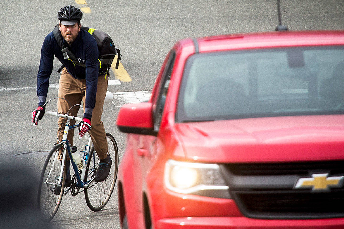 Hey drivers, new law requires 3 feet to pass bicyclists, walkers