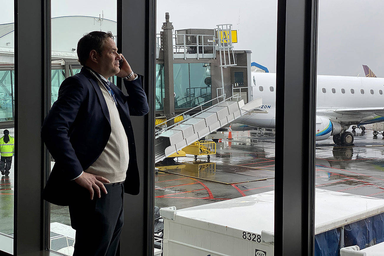 Paine Field's passenger terminal is a year old. What's next?