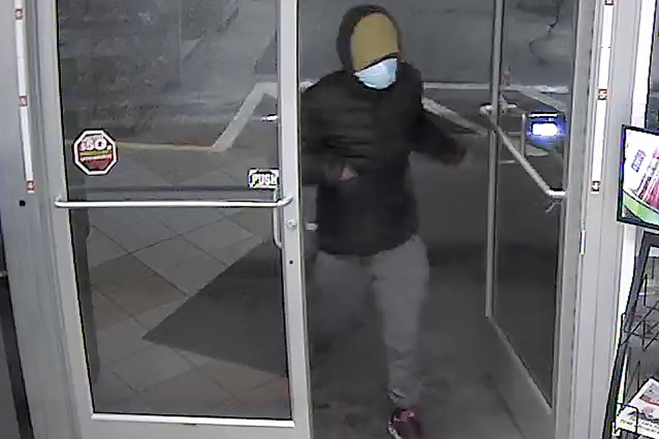 Mukilteo police seeking info about armed robbery suspect