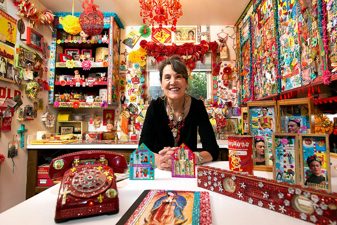 You've never seen anything like this woman's crafting room