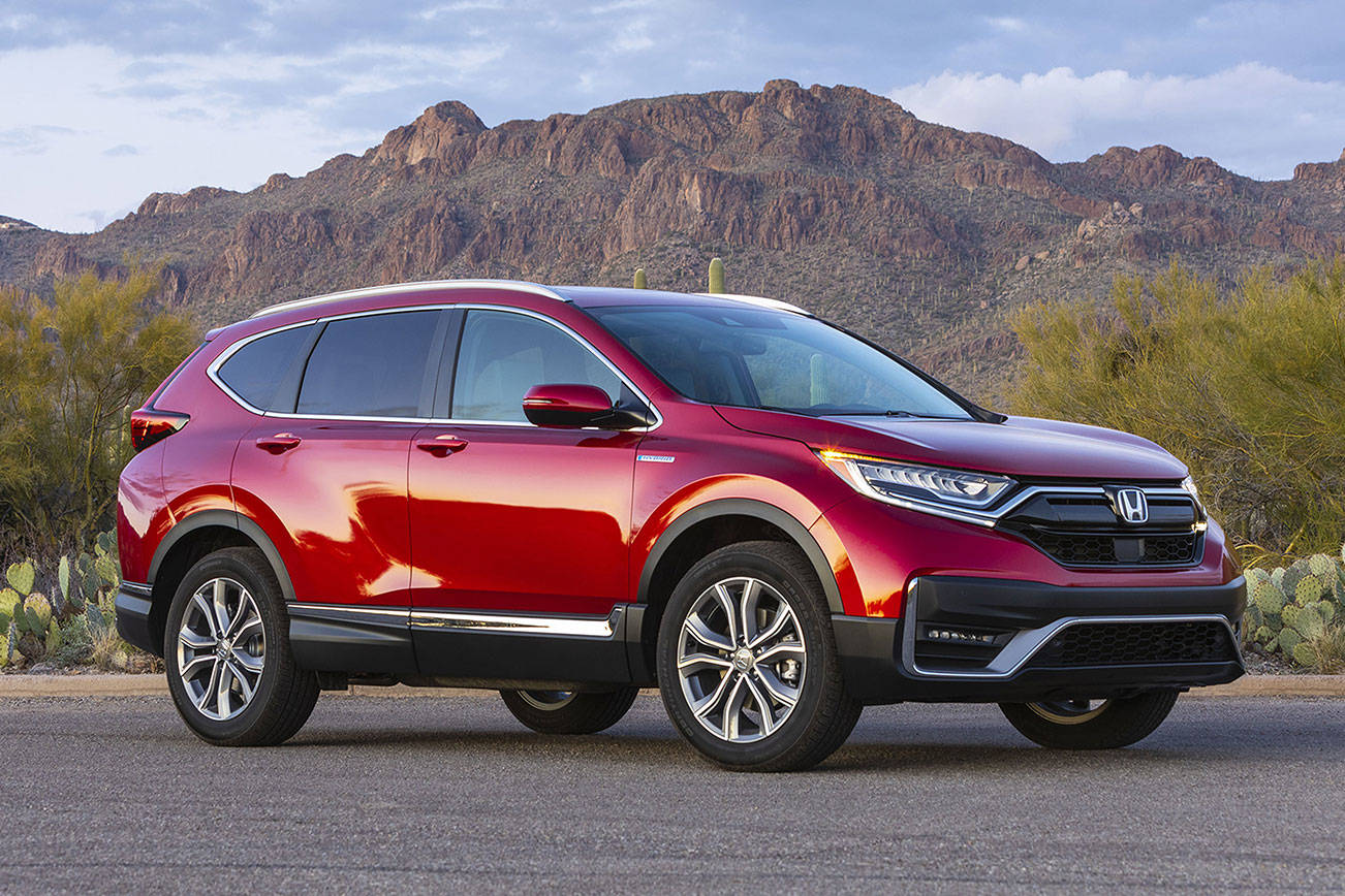 Honda adds hybrid model to compact CR-V lineup for 2020