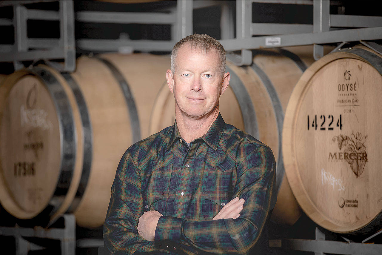 Rob Mercer of Mercer Estates Winery has been recognized as the 2020 Honorary Grower for the Auction of Washington Wines. (Auction of Washington Wines)