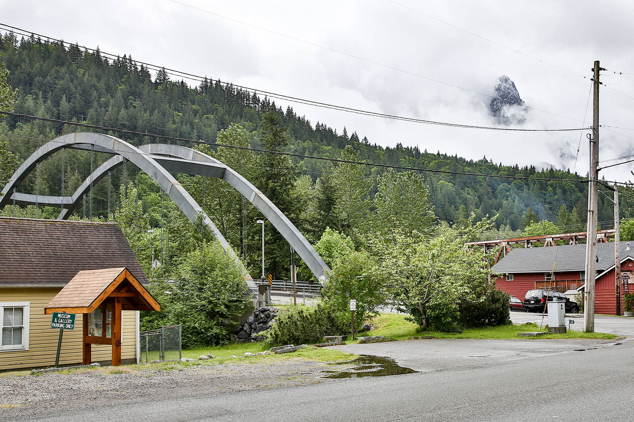 Index is the last Snohomish County town with no reported COVID-19 cases. (Kevin Clark / The Herald)