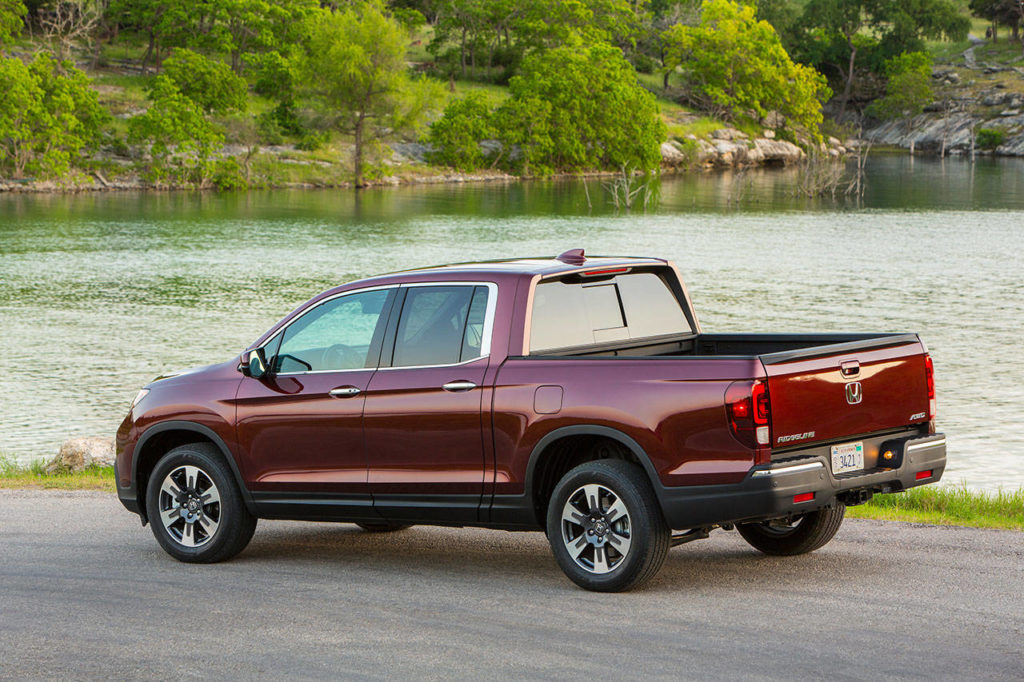 A new nine-speed automatic transmission is standard on every 2020 Honda Ridgeline. (Manufacturer photo)