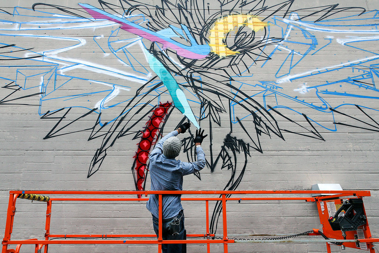 Schack charts graffiti's journey from the streets to canvas