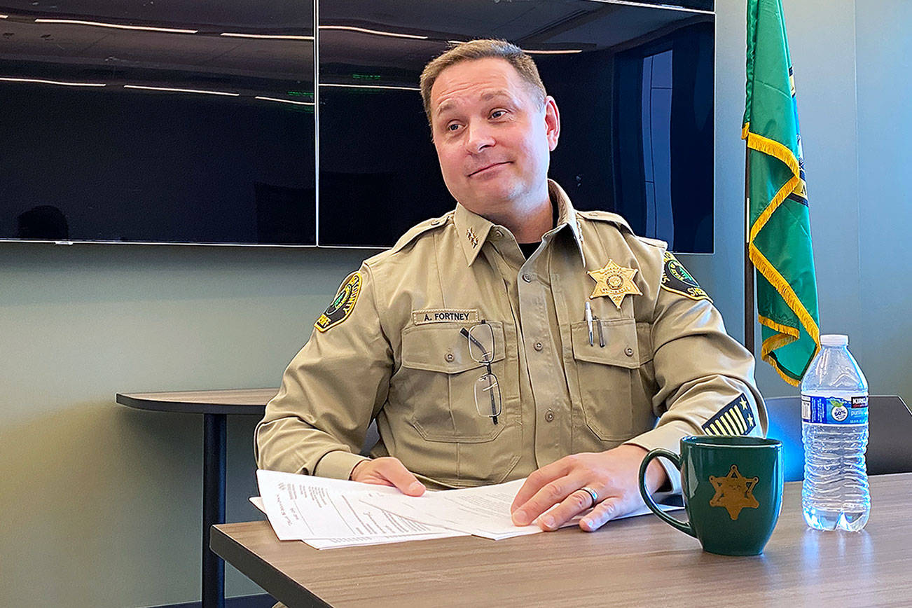 Fortney's first 6 months as sheriff: 'A lot to reflect on'