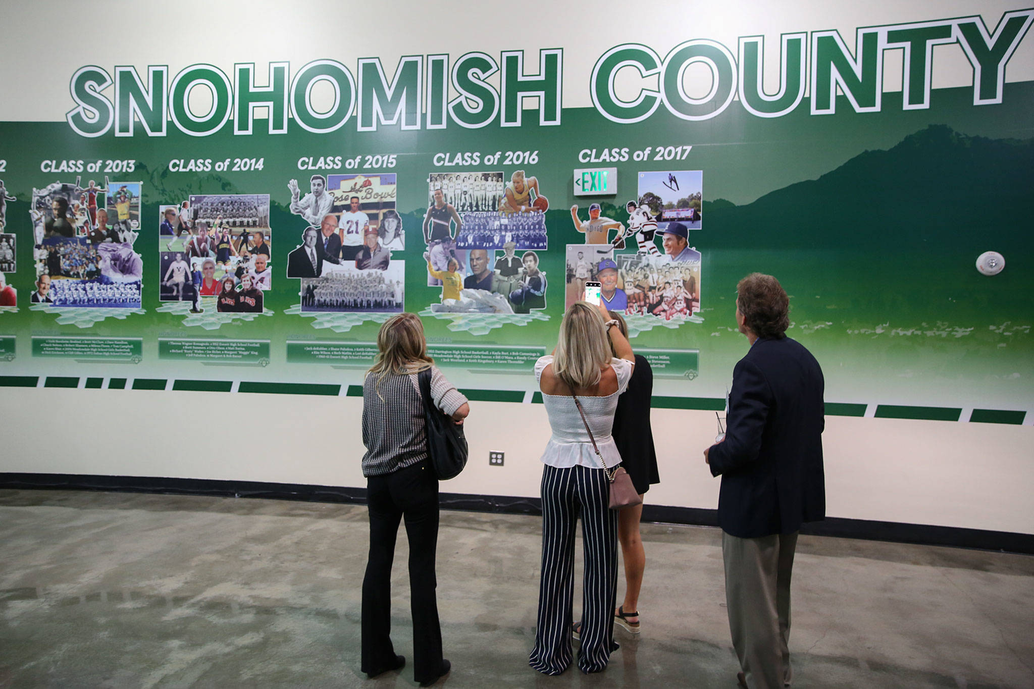 The Snohomish County Sports Hall of Fame has announced that its 2020 banquet has been canceled due to the coronavirus pandemic. The Class of 2020 will be honored at the 2021 ceremony. (Kevin Clark / The Herald)