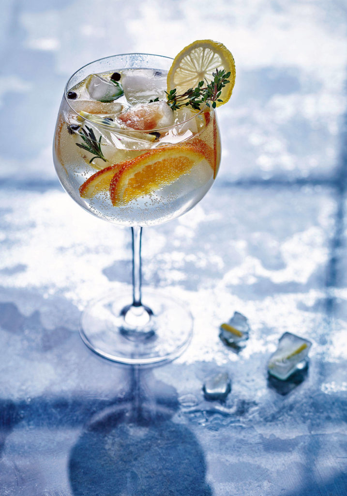 """An NGT is an alcohol-free version of a gin and tonic from Fiona Beckett's book """"How to Drink Without Drinking."""" (Nassima Rothacker)"""