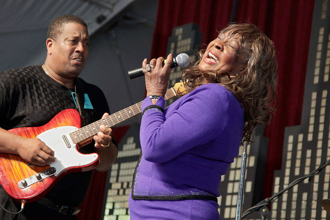 Martha Reeves of Martha Reeves and the Vandellas is scheduled to perform Oct. 10 at the Edmonds Center for the Performing Arts. (Associated Press)
