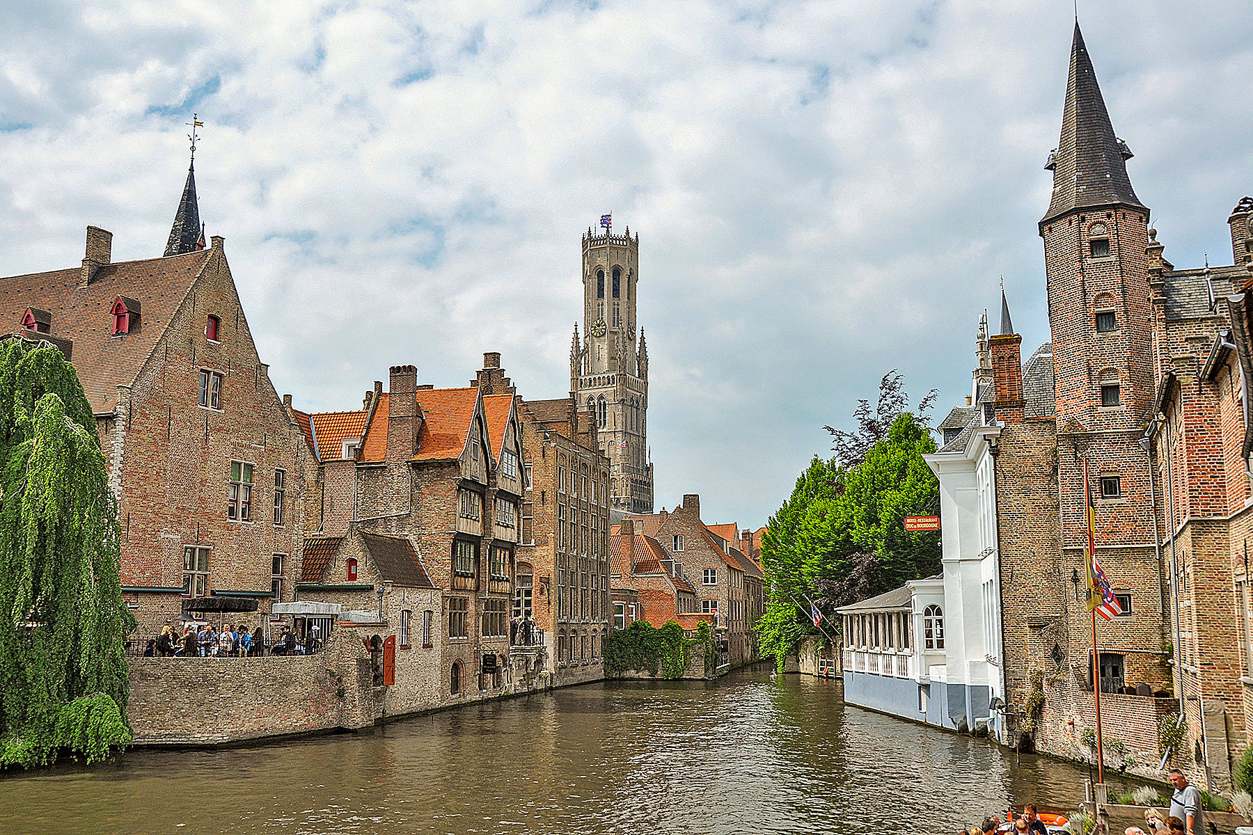 Rick Steves on Bruges, pickled in gothic, sweetened by chocolate