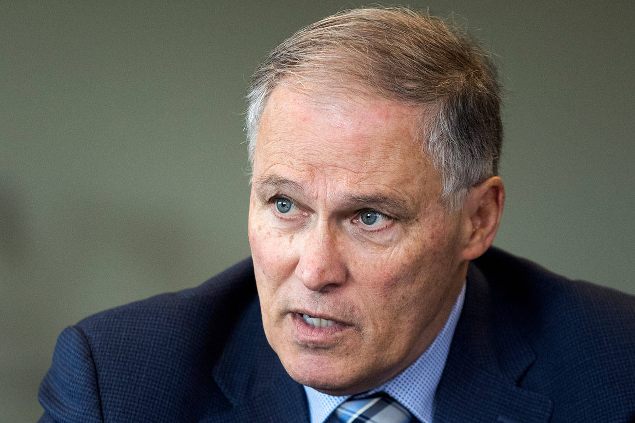 Watch Gov. Jay Inslee's Thursday news conference here