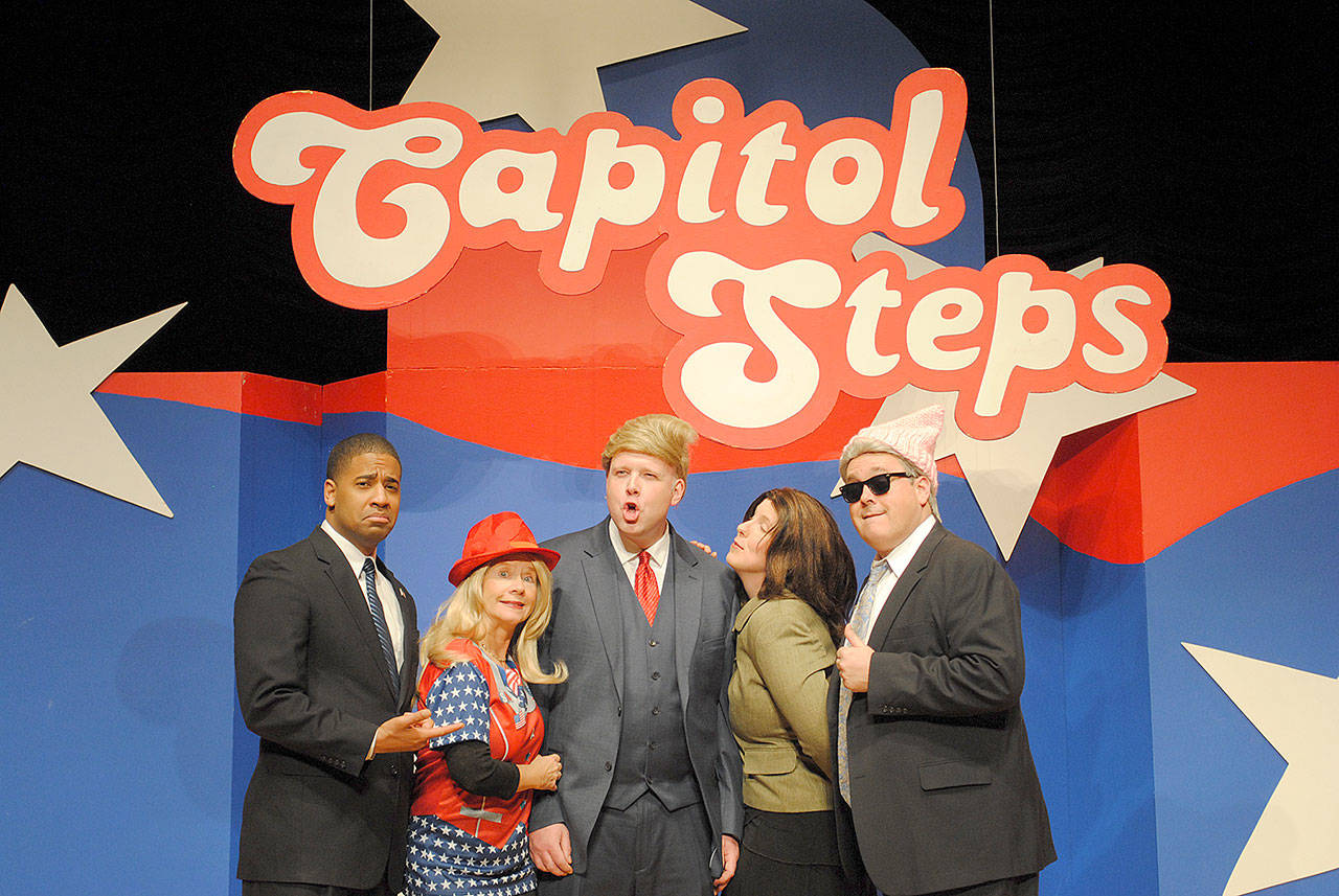 The Capitol Steps bring their political humor to the Edmonds Center for the Arts Oct. 20 and 21. (Capitol Steps)
