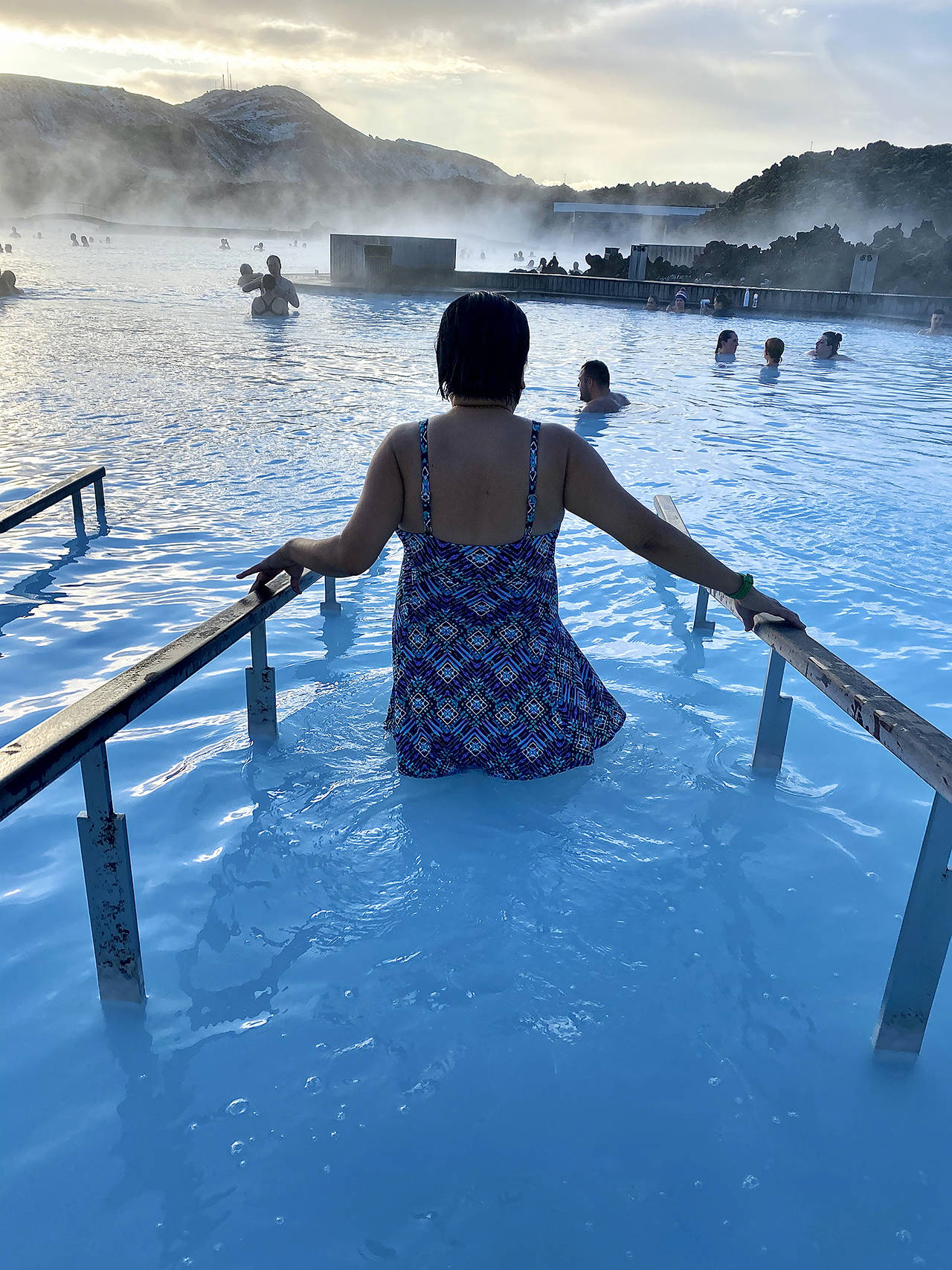 The Blue Lagoon is a popular Iceland destination. (Andrea Brown / The Herald)