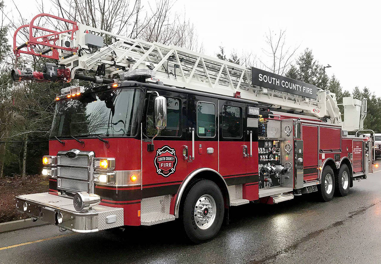 This fire truck serves the South County Fire District. (City of Lynnwood)