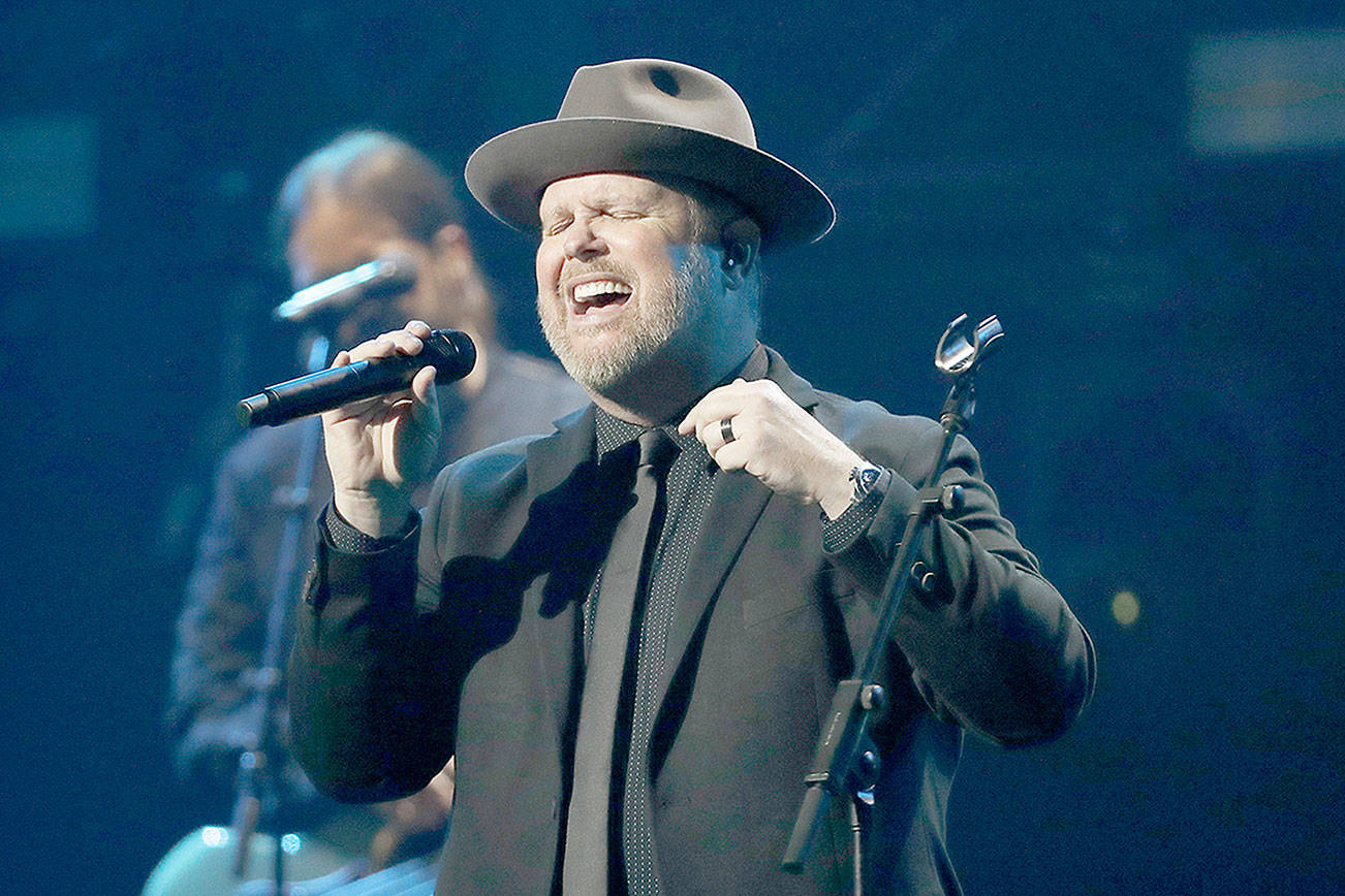 Bart Millard and the group MercyMe are scheduled to perform Feb. 21, 2021, at Angel of the Winds Arena in Everett. (Associated Press)
