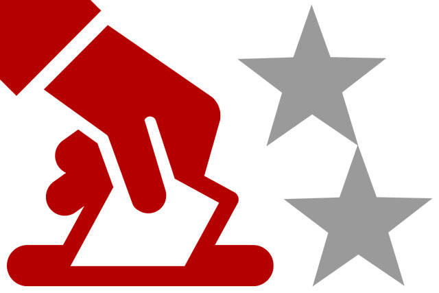 Election vote icon for general use.