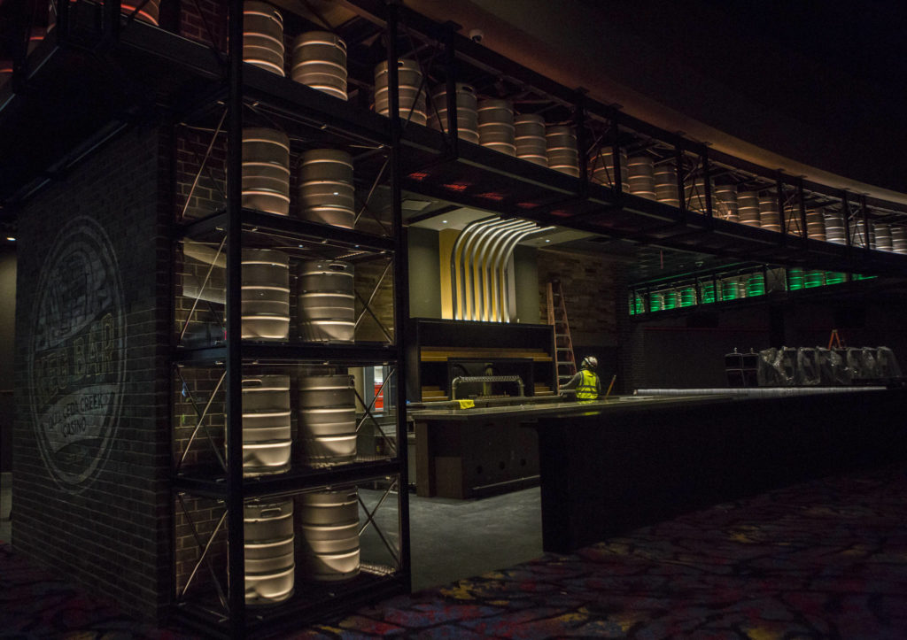 The Keg Bar in the new Quil Ceda Creek Casino in Tulalip. (Olivia Vanni / The Herald)