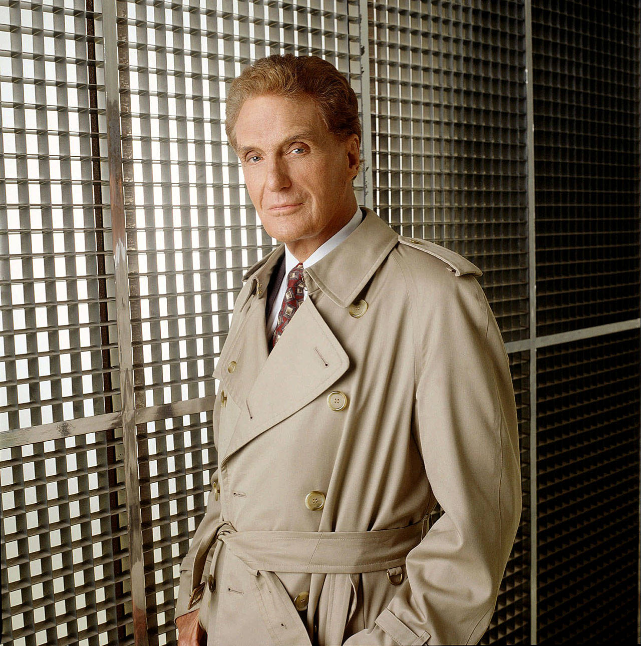 "Robert Stack was host of TV's ""Unsolved Mysteries"" from 1987 to 2002. A new Everett Community College production of ""Macbeth"" is inspired by the show. (Associated Press)"