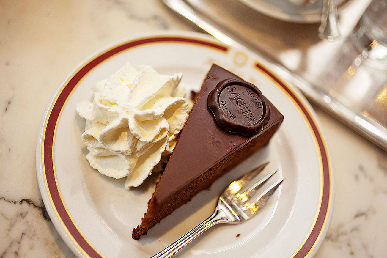 Vienna's beloved Sacher torte.