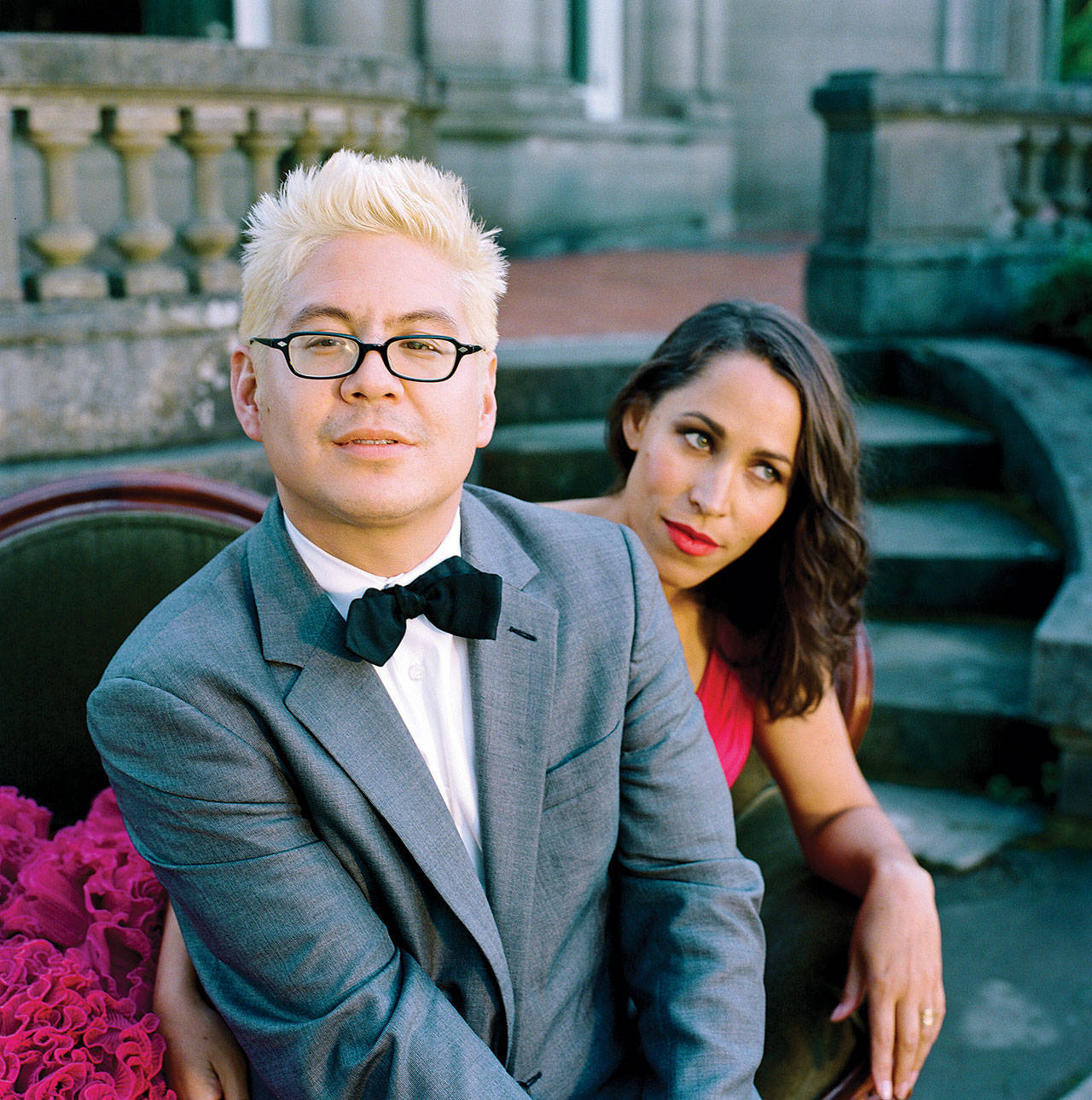 Thomas Lauderdale and China Forbes of Pink Martini. Photo by Autumn de Wilde